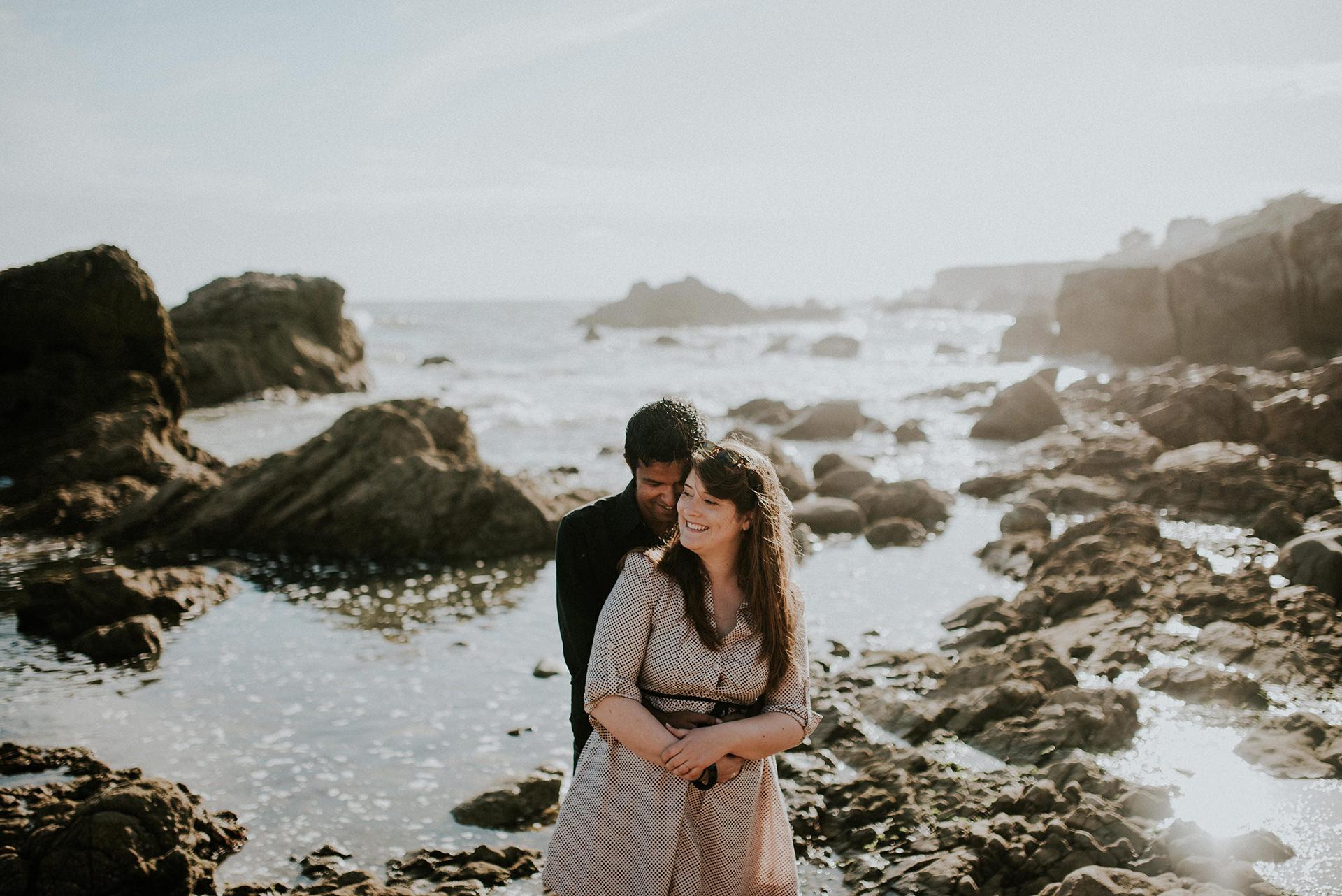 ©Les Histoires d'A. - seance couple plage mer