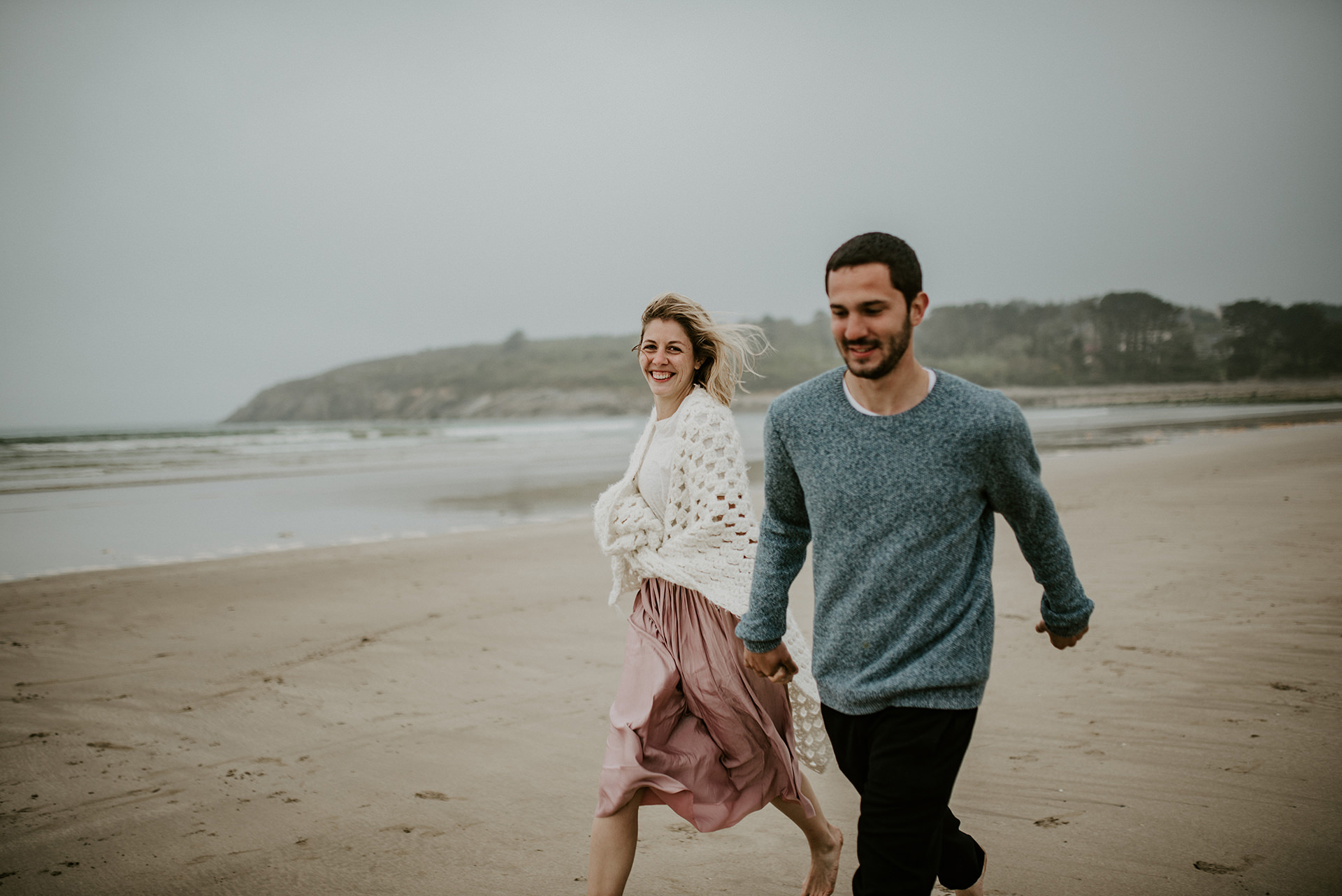 seance engagement photographe bretagne